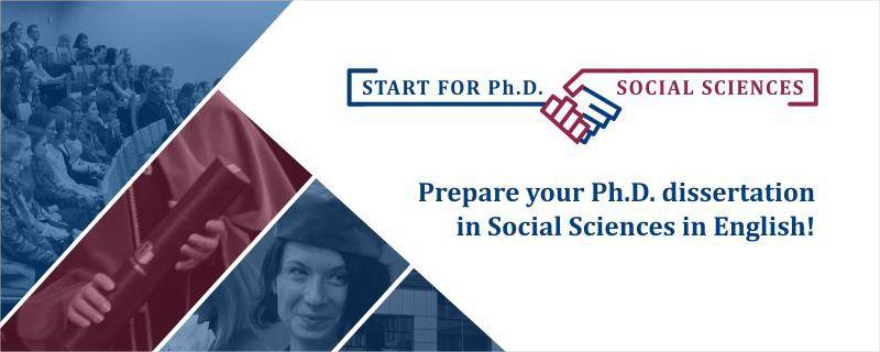 Start for Ph.D. in Social Sciences