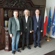 Visit of famous composer Jan A.P. Kaczmarek to UG
