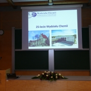 Celebrating 25 years of the UG's Faculty of Chemistry 2