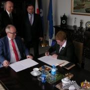 Agreement between the UG and the Ivan Franko National University of Lviv 1