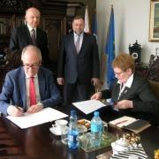 Agreement between the UG and the Ivan Franko National University of Lviv 2