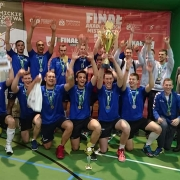 The AZS University of Gdańsk's volleyball team made an excellent appearance, winning the title of Vice-Champions of Poland 1