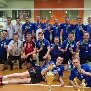 The AZS University of Gdańsk's volleyball team made an excellent appearance, winning the title of Vice-Champions of Poland 2