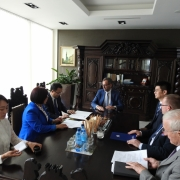 Visit by the Rector of the CYU 3