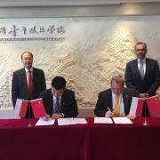 Visit of University of Gdańsk delegation to China 5