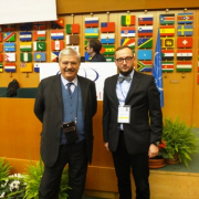 Prof. Kamil Zeidler with ICCROM Director-General Stefano De Caro  2
