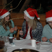 Christmas Eve for Foreign Exchange Students 15