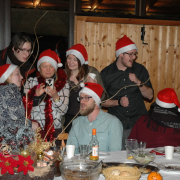 Christmas Eve for Foreign Exchange Students 4