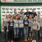 Vice-Championship of Poland in cross country running for the AZS UG  1