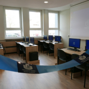 computer lab opened at the Faculty of Management  3