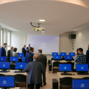 computer lab opened at the Faculty of Management  12