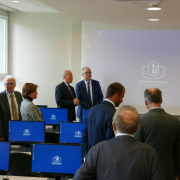 computer lab opened at the Faculty of Management  13