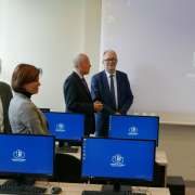 computer lab opened at the Faculty of Management  14