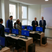 computer lab opened at the Faculty of Management  15