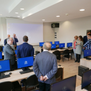 computer lab opened at the Faculty of Management  16