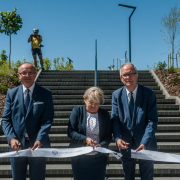 The ceremonial opening of the University of Gdańsk's EcoPark 2
