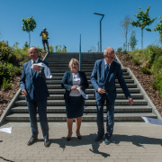 The ceremonial opening of the University of Gdańsk's EcoPark 3