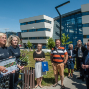 The ceremonial opening of the University of Gdańsk's EcoPark 4