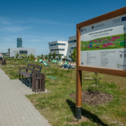 The ceremonial opening of the University of Gdańsk's EcoPark 5