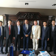 Chinese delegation from Nanyang Normal University 3