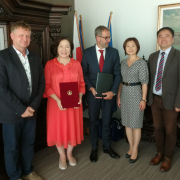 Delegation of Chonbuk National University from South Korea1