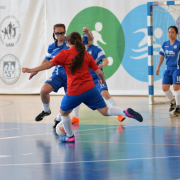 AZS UG Futsal Ladies triumph at international tournament in Poznań 13