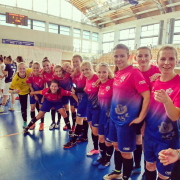 AZS UG Futsal Ladies triumph at international tournament in Poznań 9