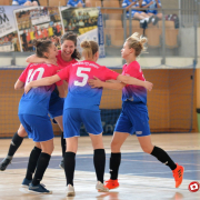 AZS UG Futsal Ladies triumph at international tournament in Poznań 8