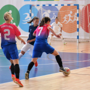 AZS UG Futsal Ladies triumph at international tournament in Poznań 7