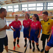 AZS UG Futsal Ladies triumph at international tournament in Poznań 4