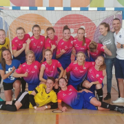 AZS UG Futsal Ladies triumph at international tournament in Poznań 3