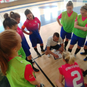 AZS UG Futsal Ladies triumph at international tournament in Poznań 1