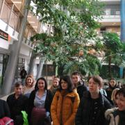 Youth delegation from Kaliningrad language school visits 5
