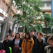 Youth delegation from Kaliningrad language school visits 5