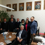 Delegation from Xidian University, China 1