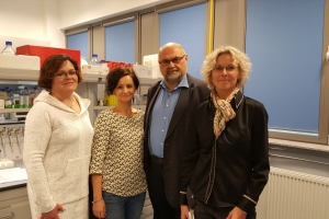 Recognition for research team