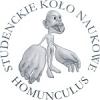 """Logo Studenckiego Koła Naukowego Fizjologów """"Homunculus"""""""